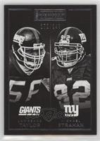 Lawrence Taylor, Michael Strahan #/299