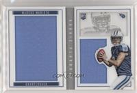 Rookie Booklet Silver - Marcus Mariota #/199