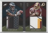 Jamison Crowder, Nelson Agholor /25
