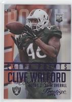 Clive Walford #/100