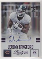 Jeremy Langford [EXtoNM] #/100