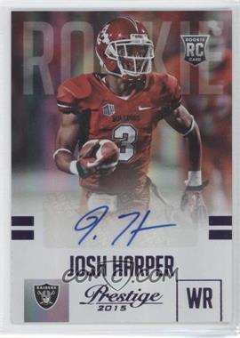 2015 Panini Prestige - [Base] - Rookies Extra Points Purple Signatures [Autographed] #251 - Josh Harper /100