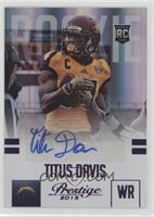 Titus Davis #/100