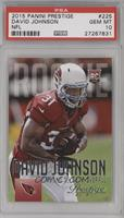 David Johnson (Pro Uniform) [PSA 10]