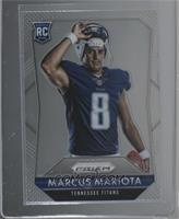 Rookies - Marcus Mariota (Posed, Removing Helmet) [Mint or Better]