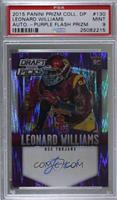 Leonard Williams /99 [PSA9MINT]