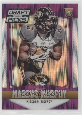 2015 Panini Prizm Collegiate Draft Picks - [Base] - Purple Flash Prizms #218 - Marcus Murphy /99