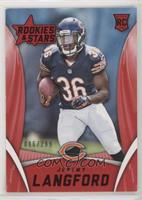 Rookies - Jeremy Langford /299