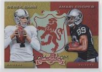 Amari Cooper, Derek Carr /99