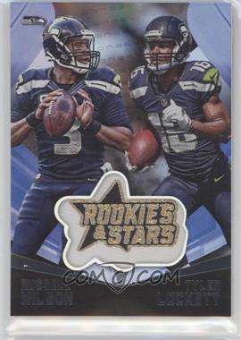 2015 Panini Rookies & Stars - Embroidered Patches - Longevity #EP10 - Russell Wilson, Tyler Lockett