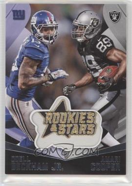 2015 Panini Rookies & Stars - Embroidered Patches #EP6 - Amari Cooper, Odell Beckham Jr.