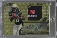 Rookie Patch Autographs - Melvin Gordon #/1