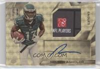 Rookie Patch Autographs - Nelson Agholor #/1