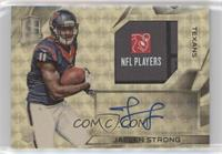 Rookie Patch Autographs - Jaelen Strong #/1
