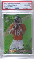 Peyton Manning (Broncos) [PSA10GEMMT] #/25