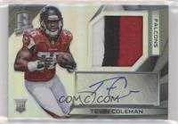 Rookie Patch Autographs - Tevin Coleman #/99