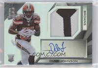 Rookie Patch Autographs - Duke Johnson #/75