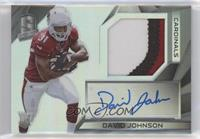 Rookie Patch Autographs - David Johnson #/99