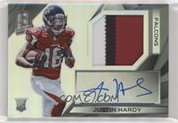 Rookie Patch Autographs - Justin Hardy #/99