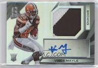 Rookie Patch Autographs - Vince Mayle /99