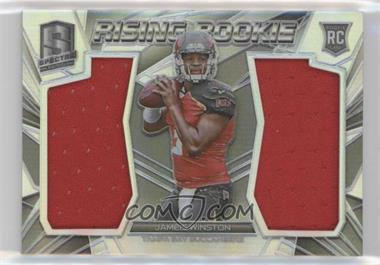 2015 Panini Spectra - Rising Rookie Materials #RR-JW - Jameis Winston /199
