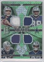 Tony Romo, Dez Bryant, Terrance Williams, Jason Witten #/25