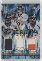 C.J. Anderson, Cody Latimer, Peyton Manning /50
