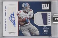 Andre Williams [Uncirculated] #/25