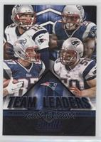 Jonas Gray, Rob Ninkovich, Tom Brady, Rob Gronkowski [EX to NM]
