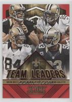 Junior Galette, Kenny Stills, Mark Ingram, Drew Brees