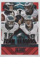 Connor Barwin, Jeremy Maclin, Mark Sanchez, LeSean McCoy