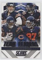 Alshon Jeffery, Jay Cutler, Matt Forte, Willie Young