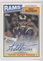 Sean Mannion #/200