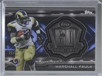 Marshall Faulk #/50