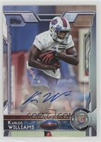 Rookie Autographs - Karlos Williams