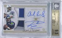 Andrew Luck, Russell Wilson [BGS 9.5]