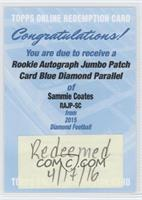 Sammie Coates [REDEMPTION Being Redeemed]