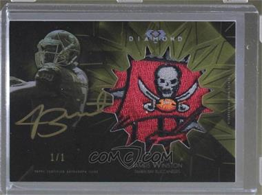 2015 Topps Diamond - Rookie Autograph Jumbo Patch - Gold Ink #RAJP-JW - Jameis Winston /1