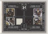 Le'Veon Bell, Antonio Brown, Jerome Bettis, Hines Ward /99