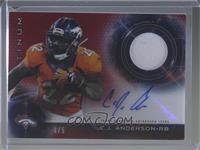 C.J. Anderson [Noted] #/5