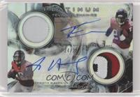 Tevin Coleman, Justin Hardy #/25