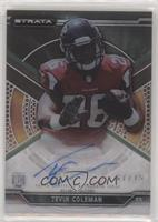 Tevin Coleman [EX to NM] #/75