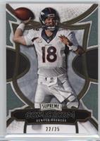 Peyton Manning #22/25