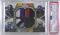 Ty Montgomery, Kevin White, Ameer Abdullah, Stefon Diggs [PSA9MINT]…