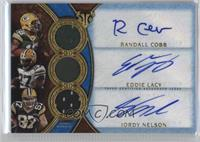 Jordy Nelson, Eddie Lacy, Randall Cobb #2/3
