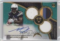 Rookie Autographed Triple Relics - Melvin Gordon /50