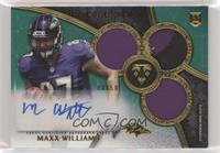 Rookie Autographed Triple Relics - Maxx Williams [Noted] #/50