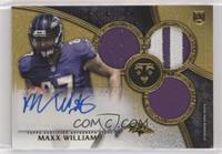 Rookie Autographed Triple Relics - Maxx Williams /25