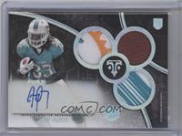 Rookie Autographed Triple Relics - Jay Ajayi /1
