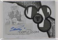 Rookie Autographed Triple Relics - Bryce Petty #/1